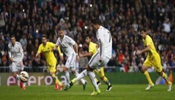 Real Madrid Ditahan Imbang Villarreal 1-1