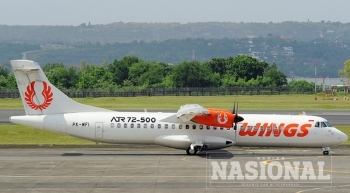 Wings Air Buka Penerbangan Perdana Internasional