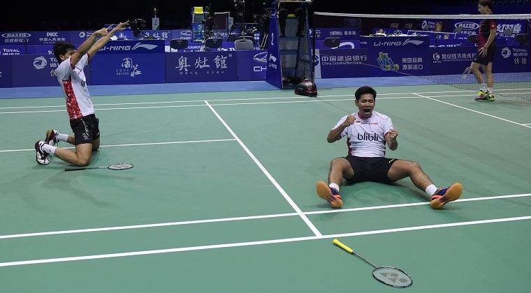 All England, Hendra-Ahsan Tembus Final