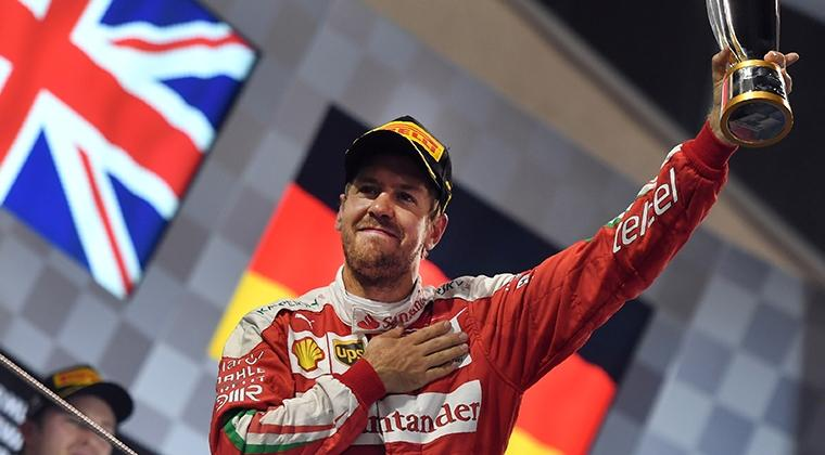 Optimistis Sebastian Vettel
