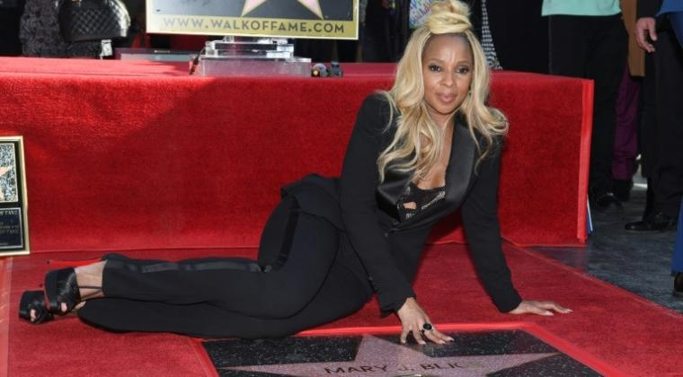 Mary J Blige Abadi di Walk of Fame