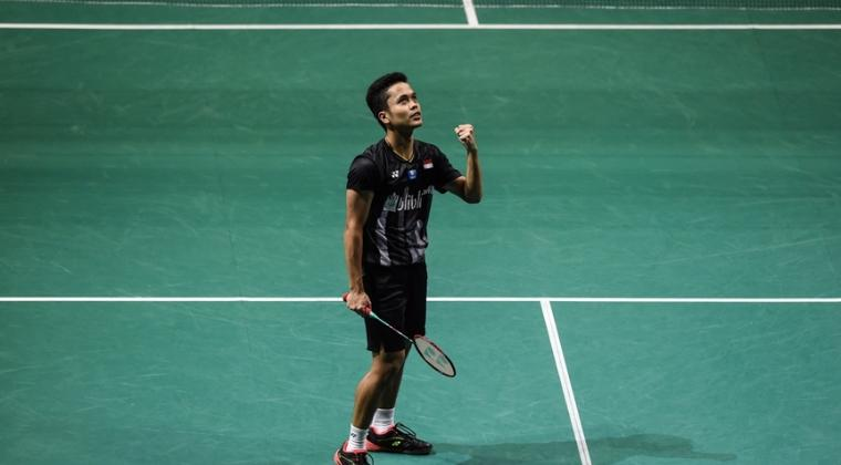 Singapore Open 2019, Anthony Ginting Melaju ke Final