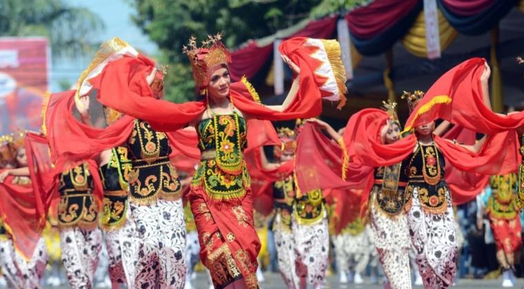 11 Negara Ikut 'Java International Folklore'