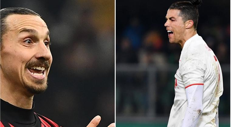 Duel Legenda, Ibrahimovic vs Ronaldo